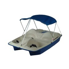 <strong>KL Industries</strong> Sun Dolphin Five Person Pedal Boat with Canopy