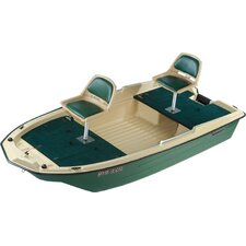 <strong>KL Industries</strong> 12' Pro 120 Deluxe Fishing Boat in Beige / Green