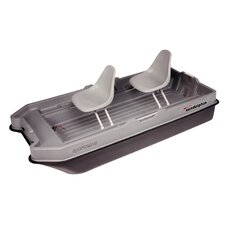 <strong>KL Industries</strong> 8.5' Sportsman Bass Boat in Gray / Black