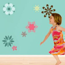 <strong>My Wonderful Walls</strong> Fabulous Flowers Wall Stencil Kit