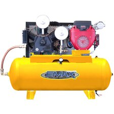 80 Gallon 24 HP Honda Electric Start 2 Stage Gas Air Compressor
