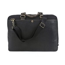 Hendrix Leather Laptop Briefcase
