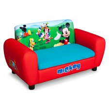<strong>Delta Children</strong> Disney Mickey Mouse Kids Sofa