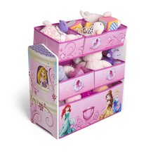 Princess Multi-Bin Toy Organizer