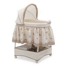Smooth Glide Safari Carousel Bassinet