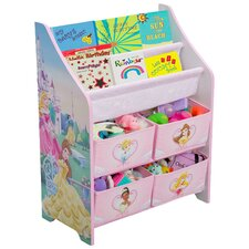 <strong>Delta Children</strong> Disney Princess Book and Toy Organizer