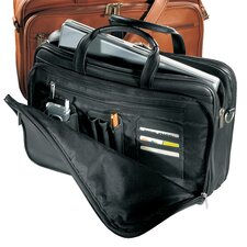 Vaqueta Napa Organizer Leather Laptop Briefcase