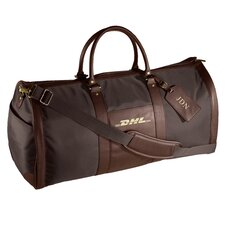 "24"" Leather Metro Convertible Travel Duffel"