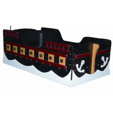 <strong>Just Kids Stuff</strong> Pirate Ship Toddler Bed
