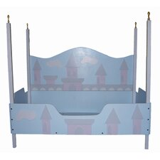 Princess Castle Toddler Bed