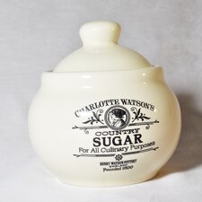 Charlotte Watson Sugar Bowl with Lid