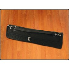 <strong>Crescent Moon</strong> Mat Tube Yoga Mat Bag in Black