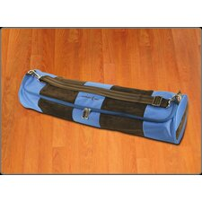 <strong>Crescent Moon</strong> Mat Tube Yoga Mat Bag in Blue and Brown