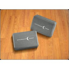 <strong>Crescent Moon</strong> DensiLite Block in Charcoal (Set of 2)