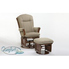 <strong>Dutailier</strong> 919 Furniture Comfort Plus Sleigh Closed Side Glider