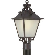 "Outdoor 1 Light 9.5"" Post Lantern"