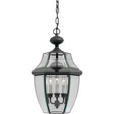 <strong>Forte Lighting</strong> 3 Light Outdoor Pendant