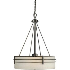 <strong>Forte Lighting</strong> 4 Light Drum Pendant