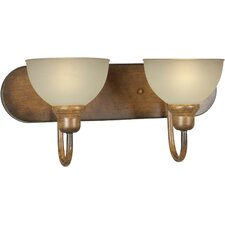 2 Light Bath Vanity Light