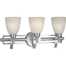 <strong>Forte Lighting</strong> 3 Light Vanity Light