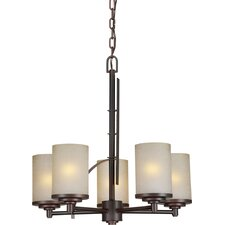 <strong>Forte Lighting</strong> 5 Light Chandelier