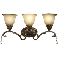 Florence 3 Light Wall Sconce