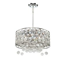 Cascade 6 Light Drum Pendant