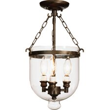 Apothecary Semi Flush Mount
