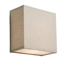 Mercer Street 1 Light Square Wall Sconce