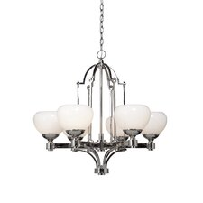 Lincoln 6 Light Chandelier