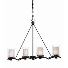 <strong>Artcraft Lighting</strong> Andover 4 Light Kitchen Island Pendant