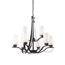 Russell Hill 9 Light Chandelier