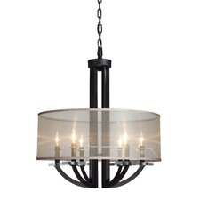 Stowe 6 Light Foyer Pendant