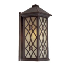 Lattice 1 Light Outdoor Wall Lantern