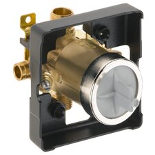 Classic Universal Tub and Shower Cold Expansion Pex Valve Body with Stops
