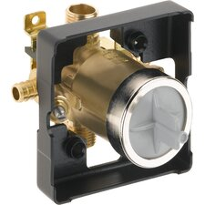 Classic Universal Tub and Shower Pex Valve Body with Stops