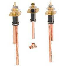 3 Hole Roman Valve Tub Valve Faucet Rough In Valve