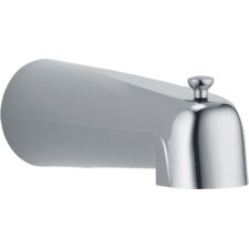 Victorian Wall Mount Slip-On Tub Spout Trim with Diverter