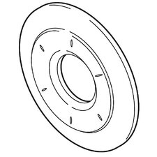 Victorian 6-Setting Diverter Escutcheon