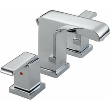 <strong>Delta</strong> Arzo Series Bathroom Faucet with Double Lever Handles