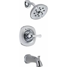 <strong>Delta</strong> Addison Pressure Balance Diverter Tub and Shower Faucet Trim