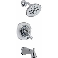 <strong>Delta</strong> Addison Monitor Pressure Balance Diverter Tub and Shower Faucet Trim