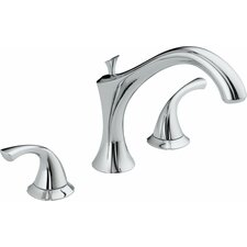 Addison Double Handle Deck Mount Roman Tub Faucet
