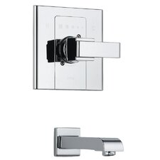Arzo Single Handle Wall Mount Monitor Tub Spout Trim