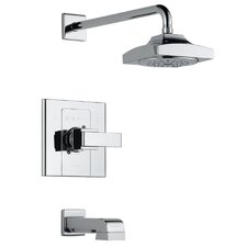 Arzo Monitor Tub and Shower Faucet Trim with Pull Up Tub Spout