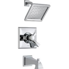 Dryden Monitor Pressure Balance Diverter Tub and Shower Faucet