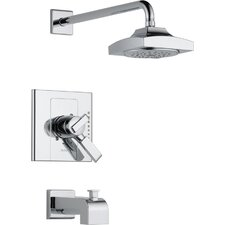 Arzo 17 Series Monitor Diverter Tub and Shower Faucet Trim