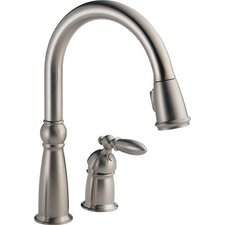 <strong>Delta</strong> Victorian Single Handle Widespread Bar/Prep Sink Faucet with Diamond Seal Technology