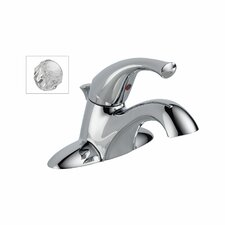 Classic Single Handle Centerset Bathroom Faucet with Diamond Seal Technology