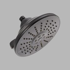 "6.5"" Three-Setting Universal Showering Components Volume Showerhead"